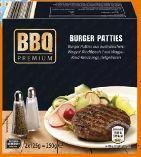 Burger Patties von BBQ Premium