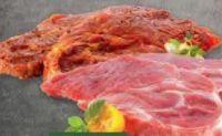 Schweine-Kammsteak mariniert