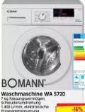 Waschmaschine WA 5720 von Bomann