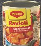Ravioli in Tomatensauce von Maggi