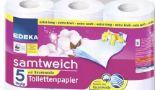 Samtweich Toilettenpapier von Edeka