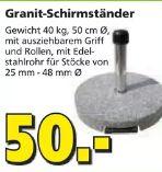 Granit Schirmständer