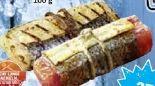 Lachsfilet in BBQ-Marinade