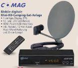 Mobile Digitale Mini-HD-Camping-Sat-Anlage von Comag