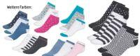 Damen Sneaker-Socken 3 Paar von Blue motion