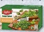 Spinat-Vielfalt von Iglo