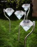 Solar-Leuchte Diamant