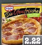 Die Ofenfrische Pizza von Dr. Oetker
