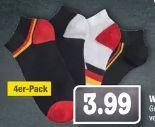 WM-Sneakersocken 4er-Pack