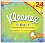 Balsam-Taschentücher von Kleenex