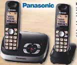 Duo DECT-Telefon KX-TG 6522 GB von Panasonic
