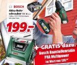Akku-Bohrschrauber PSR 1800 LI-2 von Bosch
