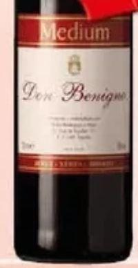 Medium Sherry von Don Benigno