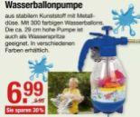 Wasserballonpumpe