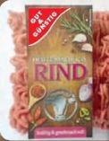 Rinderhackfleisch von Gut & Günstig