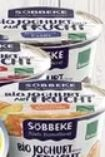 Bio-Joghurt auf Frucht von Söbbeke
