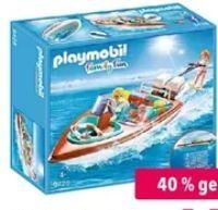 Motorboot mit Unterwassermotor 9428 von Playmobil