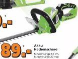 Akku-Heckenschere von Greenworks