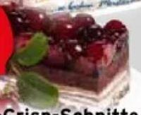 Kirsch-Schoko-Crisp-Schnitte von Erlenbacher
