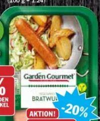 Vegetarische Bratwurst von Garden Gourmet