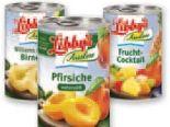 Obstkonserven von Libby's