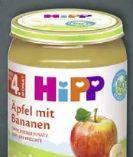 Babynahrung mit Früchten von HiPP