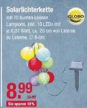 LED-Solarlichterkette von Globo