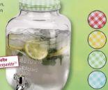 Glas-Getränkespender