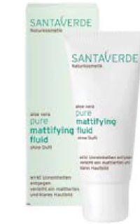 Bio Pure Mattyfying Fluid von Santaverde