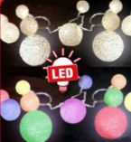 LED-Ball-Lichterkette
