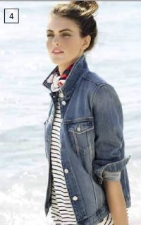 Damen Jeansjacke von Tommy Hilfiger