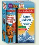 Alpen Jodsalz + Die Maus Nudel-Gewürz-Salz von Bad Reichenhaller