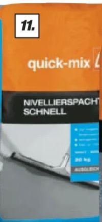 Nivellierspachtel Schnell von Quick-Mix
