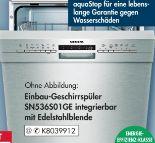 Einbau-Geschirrspüler SN436S01GE von Siemens