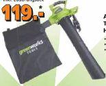Akku-Laubsauger/-bläser von Greenworks