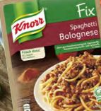 Fix Spaghetti Bolognese von Knorr
