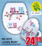 WC-Sitz Lovely Birds