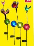 LED-Solarleuchte Blume