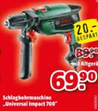 Schlagbohrmaschine Universal Impact 700 von Bosch
