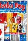 Wassereis von Alaska-Boy