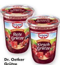 Grütze von Dr. Oetker