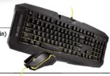 Shark Zone GK15 Gaming-Tastatur & -Maus von Sharkoon