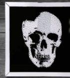 Spiegelbild Skull Mirror von Kare-Design