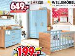 Babyzimmer Kleiderschrank Benno von Wellemöbel