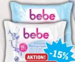 Erfrischende Reinigungstücher von Bebe Young Care