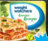 Fertiggerichte von Weight Watchers