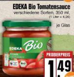Bio Tomatensauce von Edeka Bio
