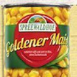 Goldener Mais von Spreewaldhof