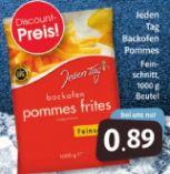 Backofen Pommes Frites von Jeden Tag