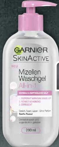 Skin Active Mizellen Waschgel von Garnier